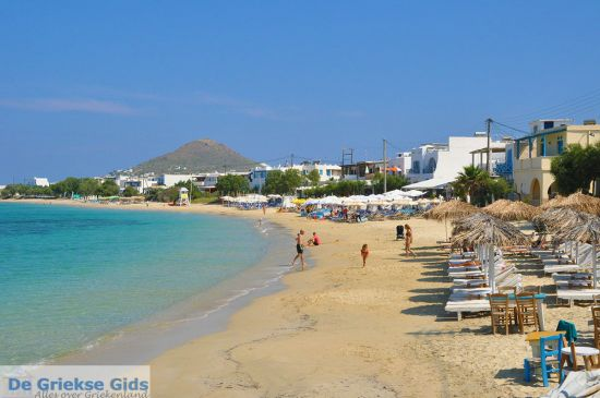 Naxos zandstrand